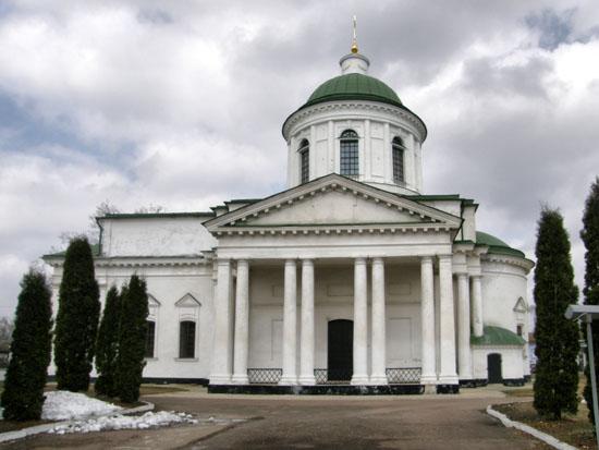 Нежин. Всехсвятская греческая церковь
