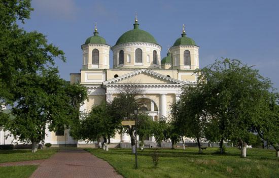 Новгород-Северский. Спасо-Преображенский монастырь