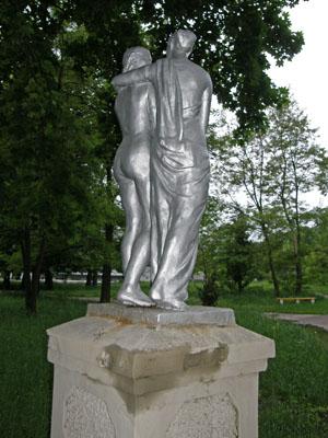 Новгород-Северский. Памятник