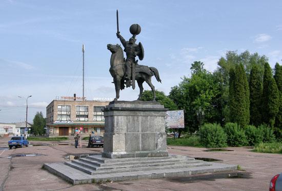 Новгород-Северский. Князь Игорь