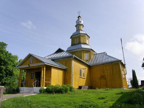 Новгород-Северский. Николаевская церковь