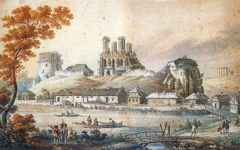 Острозький замок. Наполеон Орда