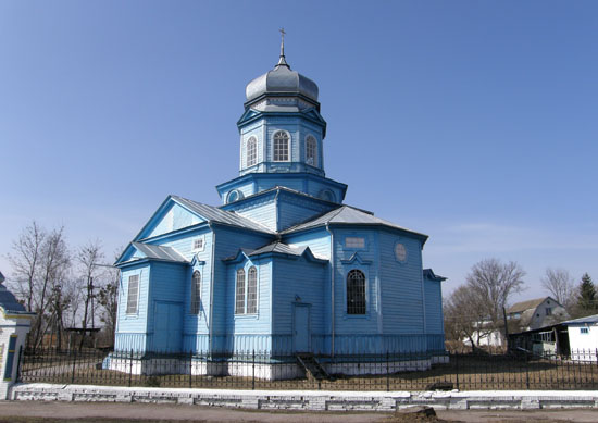 Переволочная. Преображенская церковь