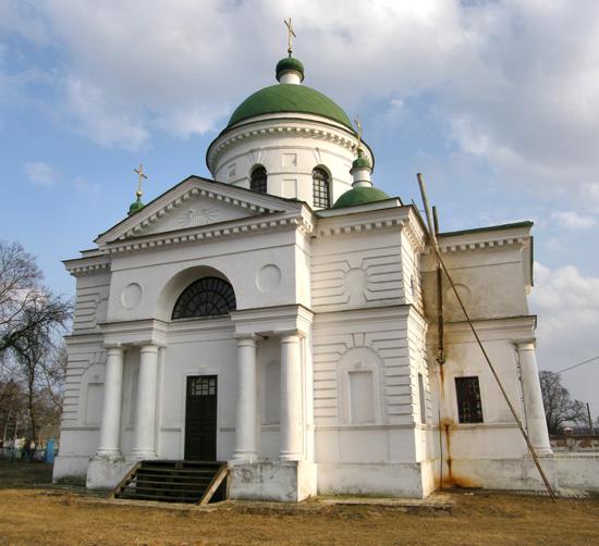 Петровское. Михайловская церковь