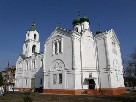 Прилуки. Ивановская церковь