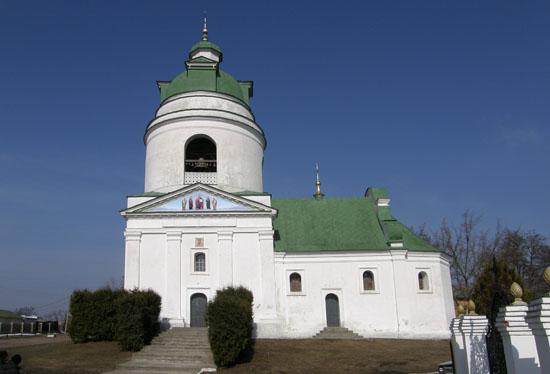 Прилуки. Николаевская церковь-колокольня