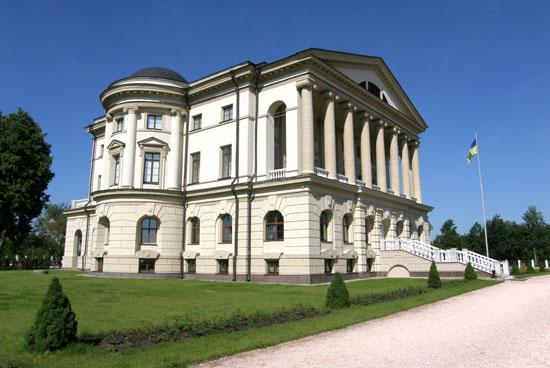 Батурин. Дворец Разумовского
