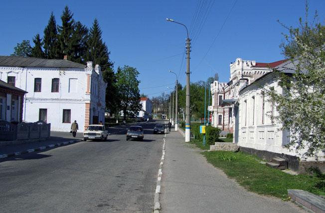 Богуслав. Вулиця Шевченка