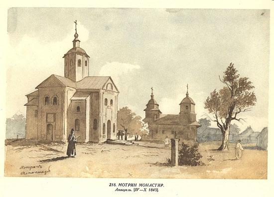 Мельники. Мотронинский монастырь