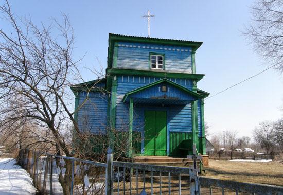 Смош. Покровская церковь