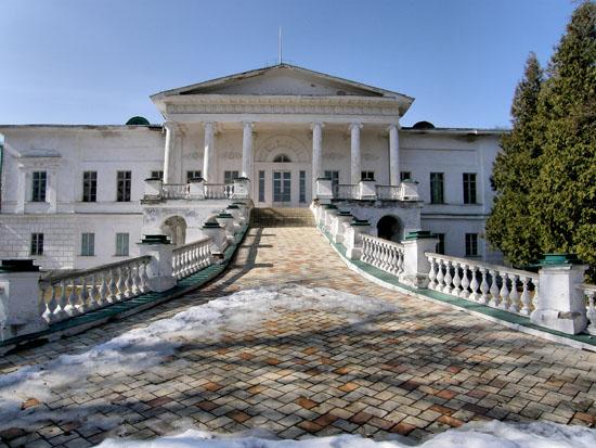 Сокиринцы. Дворец Галаганов