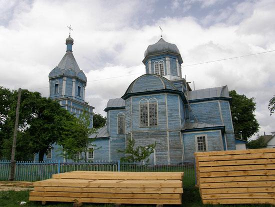Сосница. Покровская церковь