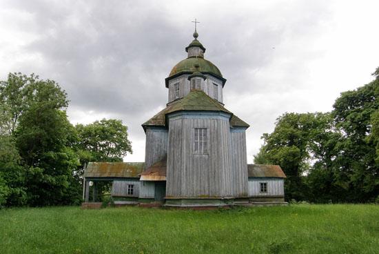 Степановка. Троицкая церковь