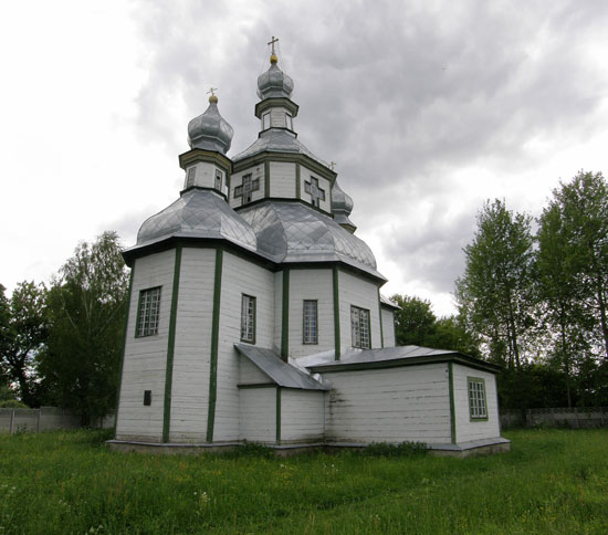 Синявка. Покровская церковь