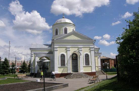 Короп. Михайловская церковь
