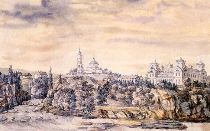 Корсунь на малюнку Наполеона Орди
