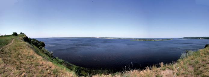 Дніпро біля Ржищева