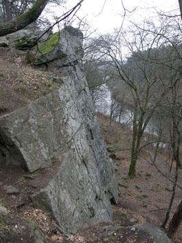 Скелі над Тетеревом