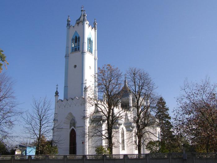 Мошни. Преображенська церква