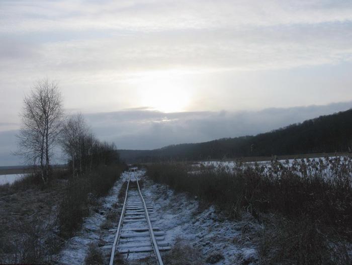 Ірдинське болото. Вузькоколійка