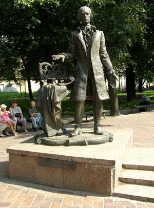 Глухов. Памятник Дмитрию Бортнянскому
