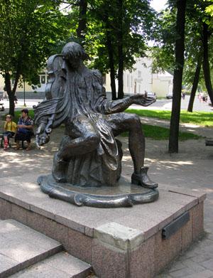 Глухов. Памятник Максиму Березовскому