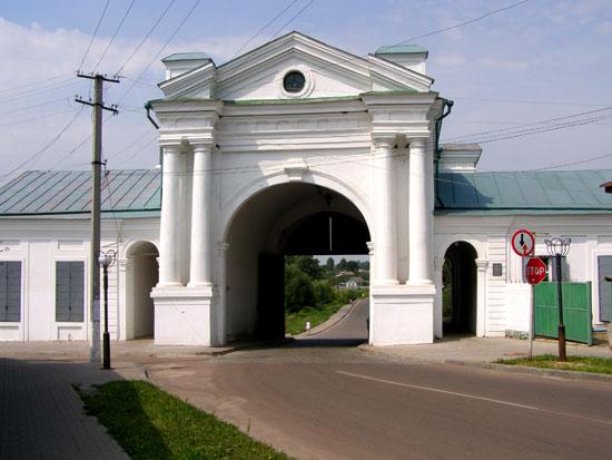 Глухов. Киевские крепостные ворота