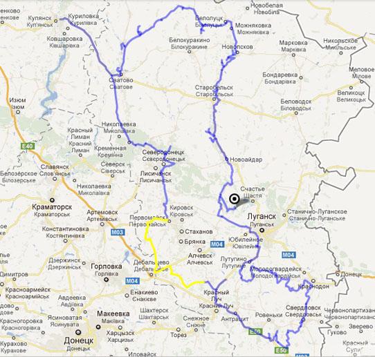 Степи Луганщини