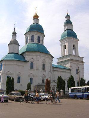 Глухов. Николаевская церковь (1695 г)