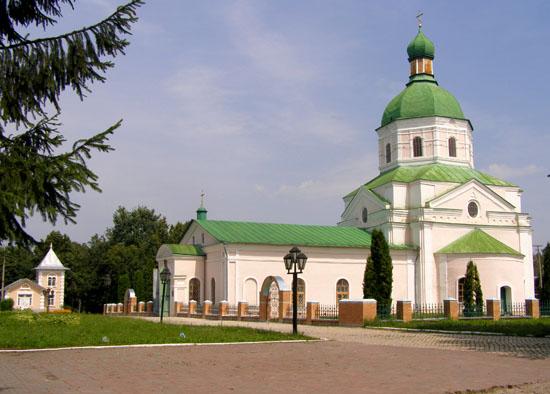 Глухов. Спасо-Преображенская церковь (1765 г)