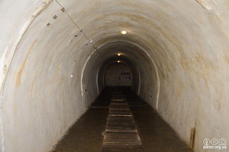 Широкий тунель
