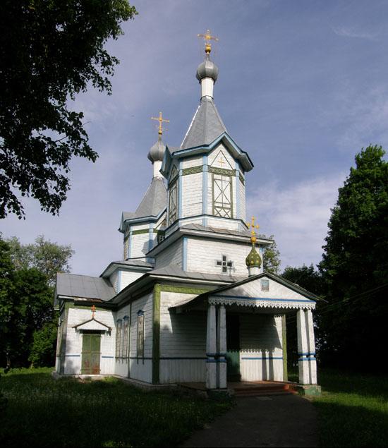 Уляновка. Вознесенская церковь