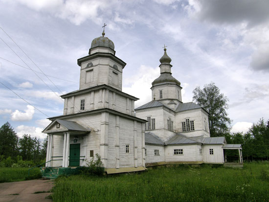 Волосковцы. Успенская церковь