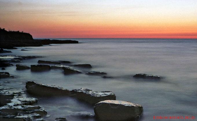 Захід сонця на Тарханкуті