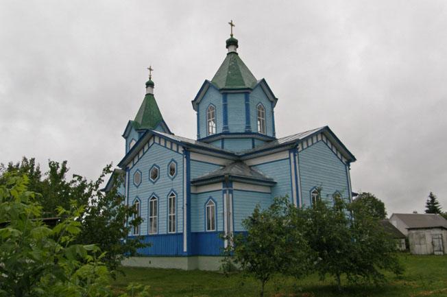 Заворычи. Георгиевская церковь. Фото 3