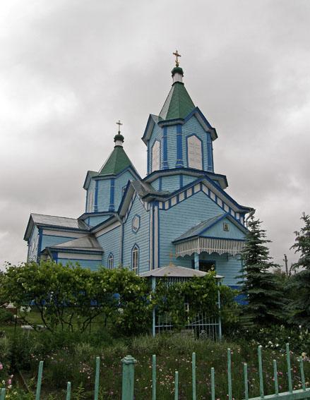 Заворычи. Георгиевская церковь. Фото 2