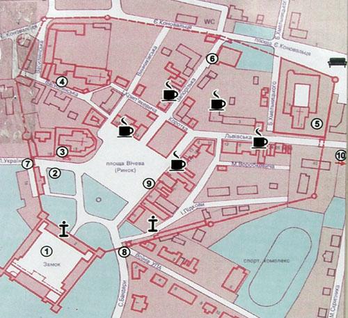 Карта Жолквы